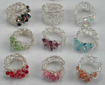 CROCHET JEWELRY PATTERN WIRE | FREE PATTERNS