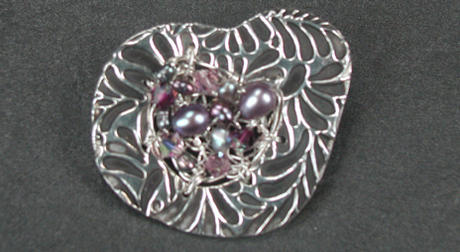 Garden Landcapes Brooch