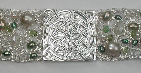Celtic Crochet Bracelet